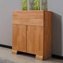 Schlafzimmer Kommode aus Buche Massivholz 80 cm