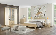 Schlafzimmer Komplett - Set A Lepa, 5-teilig,