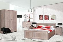 Schlafzimmer Komplett - Set C Dagana, 5-teilig,