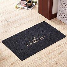 Schlafzimmer küche door mat,badezimmer toilette reinigung mat-D 60x90cm(24x35inch)