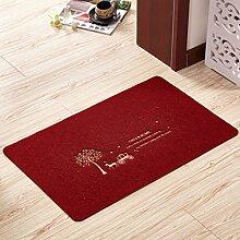 Schlafzimmer küche door mat,badezimmer toilette reinigung mat-H 50x80cm(20x31inch)