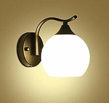 Schlafzimmer LED Wandlampe, dekoriert mit modernen