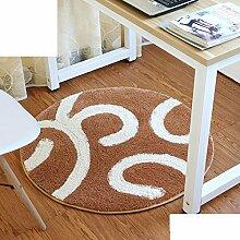Schlafzimmer,Living Room,Bett,Runde Matten/Den Computer Pad/Stuhl-matte/Anti-rutsch-matten-D Durchmesser120cm(47inch)