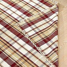 Schlafzimmer Matten baumwolle handgewebten baumwoll - matten umweltfreundliche baumwolle saugkissen teppich mats fußabtreter entrance corridor skid pad yoga - matte (england - liebhaber. Bad Matten ( größe : 60*90 )