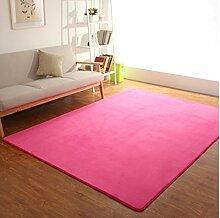 Schlafzimmer Matten Coral Kaschmir-Teppich Dicker Farbe Wohnzimmer Schlafzimmer Teppich Der Raum Ist Voll Der Nachttücher Foyer Matten Bad Matten ( Farbe : #2 , größe : 2*1.6m )