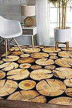 Schlafzimmer Matten Einfache moderne rechteckige Teppich Wohnzimmer Couchtisch Decke Schlafzimmer Teppich Retro Teppich Foyer Matten Modern Einfach Teppich Wohnzimmer Teppich Schlafzimmer Teppich Matratze Dick Super Soft European Style Teppich Foyer Matten Bad Matten ( Farbe : #3 , größe : 80*160cm )