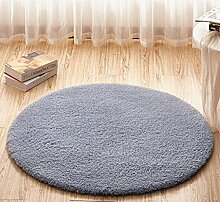 Schlafzimmer Matten Einfache runde Teppich Home Teppich Matratze Einfache Moderne Matten Europäische Wohnzimmer Couchtisch Teppich Sofa Bett Zimmer Schlafzimmer Teppich Full Floor Bett Decke Einfache moderne Matten Bad Matten ( Farbe : #1 , größe : 1.0m )