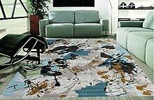 Schlafzimmer Matten Einfacher Teppich mit einem lebenden Teppich Wohnzimmer Sofa Teppich Einfache Tinte Teppich Wohnzimmer Moderne Einfache Kaffeematten Schlafzimmer Teppich Das moderne Schlafzimmer Dickens Der Teppich Bad Matten ( Farbe : #3 )