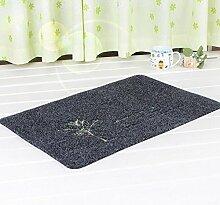 Schlafzimmer Matten eingangstür mats reiben sich die tür zum schlafzimmer mit rutschfesten matten matten teppich küche bombengeschäft (40 - 60, schwarz und rot) bo - straße Bad Matten ( Farbe : Grau , größe : 45*70 )