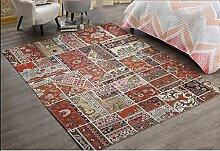 Schlafzimmer Matten Europäischer Teppich Wohnzimmer Kaffeematten Schlafzimmer Bett voller Decken Moderner einfacher Teppich Foyer Matten Nordic Fashion Teppich Bad Matten