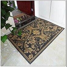 Schlafzimmer Matten European - style Druckmatten Matratzen Tür Teppich Teppich Wohnzimmer Schlafzimmer Teppich Bedside Eingangsmatte Bad Matten ( Farbe : #3 , größe : 60*90cm )