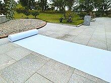 Schlafzimmer Matten Hochzeits-weißer Teppich-Hochzeits-Stützmatten Polyester-Teppich-Feier-Fuß-Auflage-Partei-wegwerfbare Tür-Matten Bad Matten ( größe : 1.5*20m )