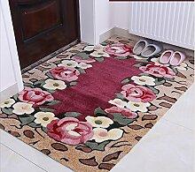 Schlafzimmer Matten Home Eingang Teppich Moderne Einfache Teppich Wohnzimmer Kaffee Mats Europäische Stil Foyer Teppich Mode Matratze Couchtisch Wohnzimmer Kaffee Mats Einfache Schlafzimmer Sofa Mit Teppich Bad Matten ( Farbe : #3 , größe : 67*137cm )
