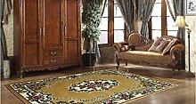 Schlafzimmer Matten Home Teppich Matratze Einfache Moderne Matten Europäische Wohnzimmer Couchtisch Teppich Sofa Bett Zimmer Schlafzimmer Teppich Full Floor Bett Decke Bad Matten ( Farbe : #1 , größe : 50*80cm )