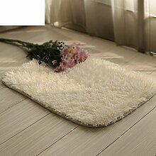 Schlafzimmer Matten in der Halle/Fußmatte/Wohnzimmer Couchtisch wasserabsorbierenden rutschfeste Badematte-B 70x140cm(28x55inch)