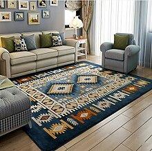 Schlafzimmer Matten Koralle Samt Teppich Wohnzimmer Couchtisch einfache moderne Maschine waschbar Decken Bad Matten ( größe : 130*190CM )
