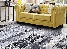 Schlafzimmer Matten Modernes Wohnzimmer Teppich Dickes Schlafzimmer Wohnzimmer Teppich Modern Einfach Teppich Wohnzimmer Teppich Europäischer Stil Sofa Kaffee Mats Bedside Rechteckiger Schlafzimmer Teppich Bad Matten ( Farbe : #4 )