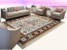 Schlafzimmer Matten Vintage Teppich Wohnzimmer Schlafzimmer Nachttisch Matratze Rectangular Tee Tischdecke Einfache modernen Teppich Bad Matten ( farbe : #2 , größe : 200*250cm )