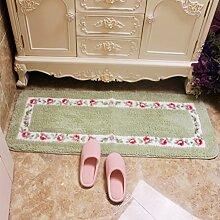 Schlafzimmer Matten/Wasser Badematte/Float Fenster Teppich Fußmatte Bettdecke/Dusche Badewanne Wasser absorbierenden Matten-C 45x75cm(18x30inch)