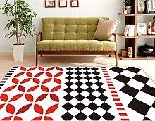 Schlafzimmer Matten Wohnzimmer Couchtisch Einfache Moderne Zimmer Teppich Schlafzimmer Nachttuch Foyer Matten Sofa Wohnzimmer Teppich Schlafzimmer Nachttischdecke Bad Matten ( Farbe : #9 )