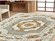 Schlafzimmer Matten Wohnzimmer Europäische Teppich Anti-Rutsch-Teppichboden-Schlafzimmer Voll-Teppich moderne minimalistische Bodenmatte Bad Matten ( farbe : #2 , größe : 80*150CM )