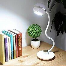 schlafzimmer mit led - lampe schüler lernen,