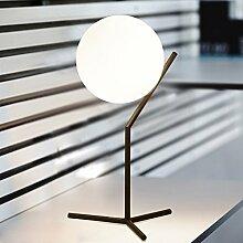 Schlafzimmer nachttischlampe Glaslampe Simple
