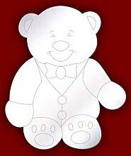 Schlafzimmer Sicherheitsspiegel geätzt Daddy Teddy Bär 10cm Acryl Sicherheit Spiegel, 30 cm