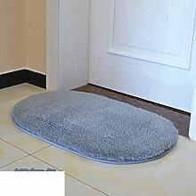 Schlafzimmer Tür Matte,Badezimmer Wasserabsorbierenden Matte,Fußmatte Für Küche,Bad-antirutsch-matten,Bett-bad-matten-F 40x60cm(16x24inch)