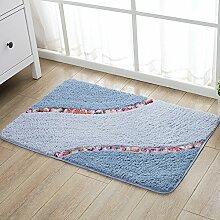 Schlafzimmer Tür Matte/Foot Pad/Von Mats/WC Tür Matte/Bad Matten-bad/Anti-rutsch-fußmatten-E 50x80cm(20x31inch)