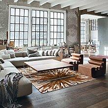 Schlafzimmer Tür Matte/Wohnzimmer Mit Rechteckigem Teppich/Bedside Persönlichkeit Teppich-A 160x230cm(63x91inch)