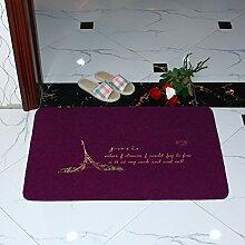 Schlafzimmer Veranda Fußmatten/Fußmatte/ Tür Eingang gegen das Erdreich/Osmanen/Anti-Rutsch Saug Badematte in der Küche-F 40x60cm(16x24inch)