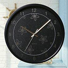 Schlafzimmer Wand Uhr stumm um koreanischen Garten Quarzuhr B/30*30cm