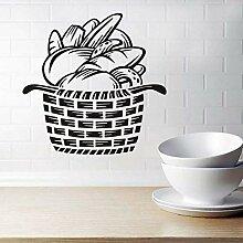 Schlafzimmer Wandaufkleber Papierkorb Wohnkultur