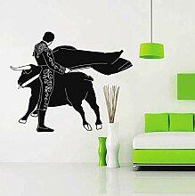 Schlafzimmer Wandaufkleber Spanisch Stierkämpfer