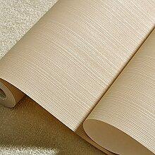 Schlafzimmer warm Vliestapeten plain dünne vertikale Streifen mit modernen Wohnzimmer TV-Kulisse Tapeten,Khaki