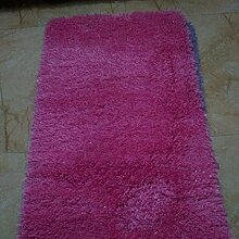 Schlafzimmer Wohnzimmer Kaffetisch Fußpolster Gang Hotel Teppich Bedside Halle Studie Teppich , pink , 70x140