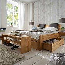 Schlafzimmermöbel Set aus Kernbuche Massivholz