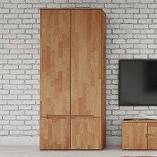 Schlafzimmerschrank aus Buche Massivholz 90 cm