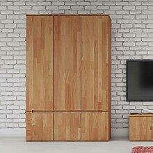 Schlafzimmerschrank aus Buche Massivholz