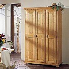 Schlafzimmerschrank aus Fichte Massivholz