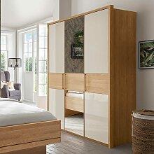 Schlafzimmerschrank Mit Spiegel Gunstig Online Kaufen Lionshome