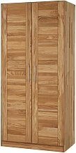 Schlafzimmerschrank mit 2 Türen Wildeiche