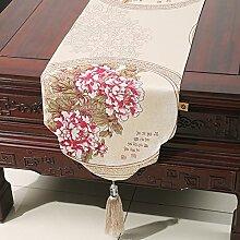 Schlanke, minimalistische Stil Tischl?ufer/Tischset/Tischfahne Couchtisch/Bett-banner-G 33x200cm(13x79inch)