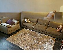 schlanke/Schlafzimmer Wohnzimmer Couchtisch Teppich Shop Erker moderne Bettdecke/[Moderne Fenster und Bettvorleger]-B 120x170cm(47x67inch)