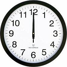Schlanken, Minimalistischen Wohnzimmer Uhr/Mute Scan Bewegung Klassenzimmer Wanduhr-H 16Zoll