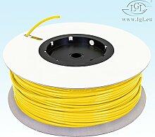 Schlauch 10 Meter 1/4 Zoll Gelb / für Umkehrosmose Kühlschrank etc