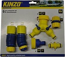 Schlauchanschluss Set 6tlg. Wasserverteiler