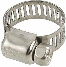 Schlauchschelle - TOOGOO(R) Fuel Injection Gas Wasser Rohr Schlauchschelle 15¨C25 mm 3 PCS