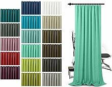 Schlaufenschal - leicht changierend - Wohndekoration in elegantem Design - unifarbener Dekostoff in 17 Farben, min